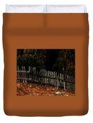 Fence Line Duvet Cover