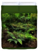 Ferns Of The Forest Duvet Cover