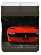 Ferrari 208 Gtb Turbo. Duvet Cover