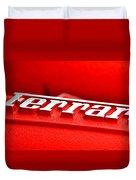 Ferrari Intake Duvet Cover