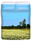 Field Of Queen Anne's Lace  Duvet Cover
