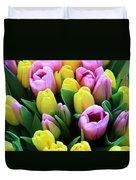 Field Of Tulips Duvet Cover
