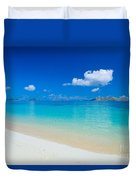 Fiji, Mana Island Duvet Cover