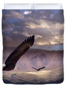 Finding Tranquility  Duvet Cover