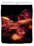 Fire Abstract  Duvet Cover