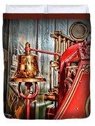 Fireman - The Fire Bell Duvet Cover