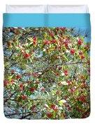 Firethorn Tree Duvet Cover