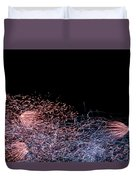 Fireworks Abstract I Duvet Cover
