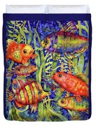 Fish Tales IIi Duvet Cover