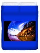 Fisheye Camera Duvet Cover