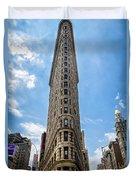 Flatiron Building  Nyc Color Duvet Cover