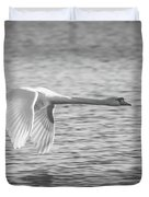 Flight Of The Swan Duvet Cover