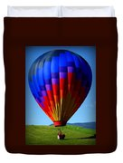 Floatin' In The Rockies 21 Duvet Cover