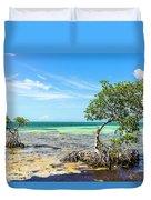 Florida Keys Mangrove Reef Duvet Cover
