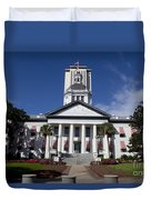 Florida State Capitol Building Duvet Cover