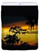 Central Florida Sunset Duvet Cover