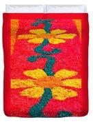 Flower Carpets Duvet Cover