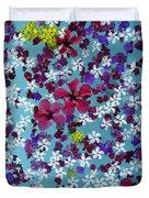 Flower Fantasy Guatemala Duvet Cover