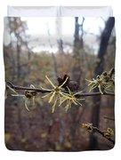 Flower In The Woods Duvet Cover