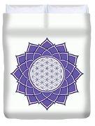Flower Of Life Duvet Cover