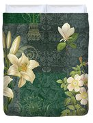 Flower Patchwork 2 Duvet Cover by JQ Licensing