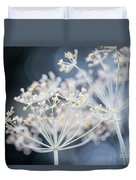 Flowering Dill Clusters Duvet Cover