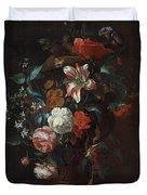 Flowers In A Vase Duvet Cover