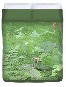 Fluffy Ferns Duvet Cover