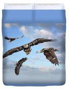 Flying Eagles Duvet Cover