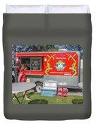 Food Truck Duvet Cover