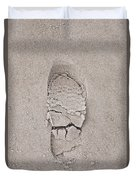 Footprint Duvet Cover