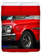 Ford Falcon Details Duvet Cover