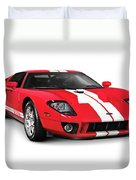 Ford Gt Supercar Duvet Cover