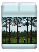 Forest Edge Duvet Cover