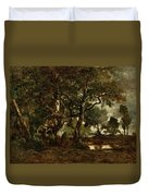 Forest Of Fontainebleau Duvet Cover