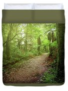 Forest Walking Trail 1 Duvet Cover