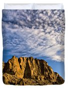 Fort Rock North Wall Duvet Cover