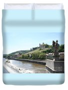 Fortress Marienberg - Wuerzburg - Germany Duvet Cover