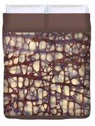 Fossilized Dinosaur Bone Duvet Cover