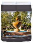 Fountain At Tlaquepaque Duvet Cover