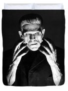 Frankensteins Monster Boris Karloff Duvet Cover
