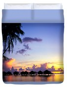 French Polynesia, Huahine Duvet Cover