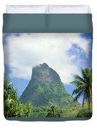 French Polynesia Moorea Duvet Cover