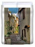 French Scenes Duvet Cover