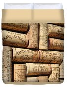 French Wines Duvet Cover