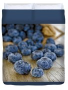Fresh Blueberries Duvet Cover