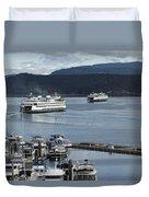 Friday Harbor Duvet Cover