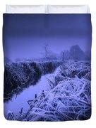 Frosty Field Duvet Cover