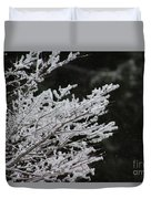 Frozen Branches Duvet Cover
