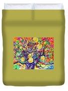 Fruit Full Vibrations Duvet Cover
